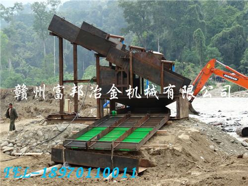 國外洗沙金設備流程設